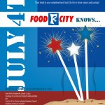 Food City Advertisement, July 4th (Copyright © 2007 Ashley D. Hairston)