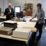 The bindery, Arion Press