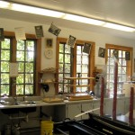 The bookbinding and papermaking studio, Penland School of Arts and Crafts