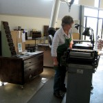The letterpress studio, Penland School of Arts and Crafts
