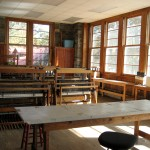 The weaving room, Penland School of Arts and Crafts