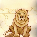The Cowardly Lion (Copyright © 2005 Ashley D. Hairston)