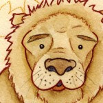 The Cowardly Lion (detail) (Copyright © 2005 Ashley D. Hairston)