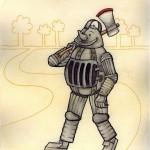 The Tin Man (Copyright © 2005 Ashley D. Hairston)