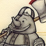 The Tin Man (detail) (Copyright © 2005 Ashley D. Hairston)