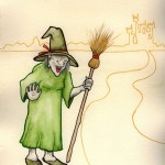 The Witch (Copyright © 2005 Ashley D. Hairston)