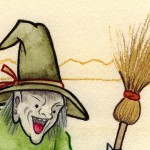 The Witch (detail) (Copyright © 2005 Ashley D. Hairston)