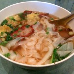 BBQ Pork Wonton Noodle Soup from Noodle Planet, Los Angeles, California