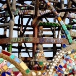 The Watts Towers (1965), Simon Rodia (detail)